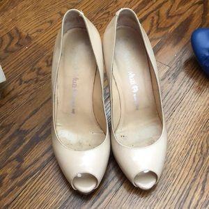 Beige heels made in Italy size 37 Nando muzi